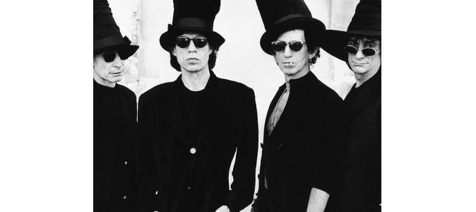 Rolling Stones Black White