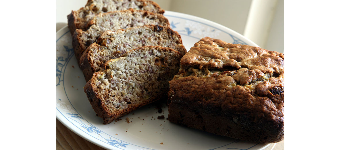 Easy recipe of banana bread