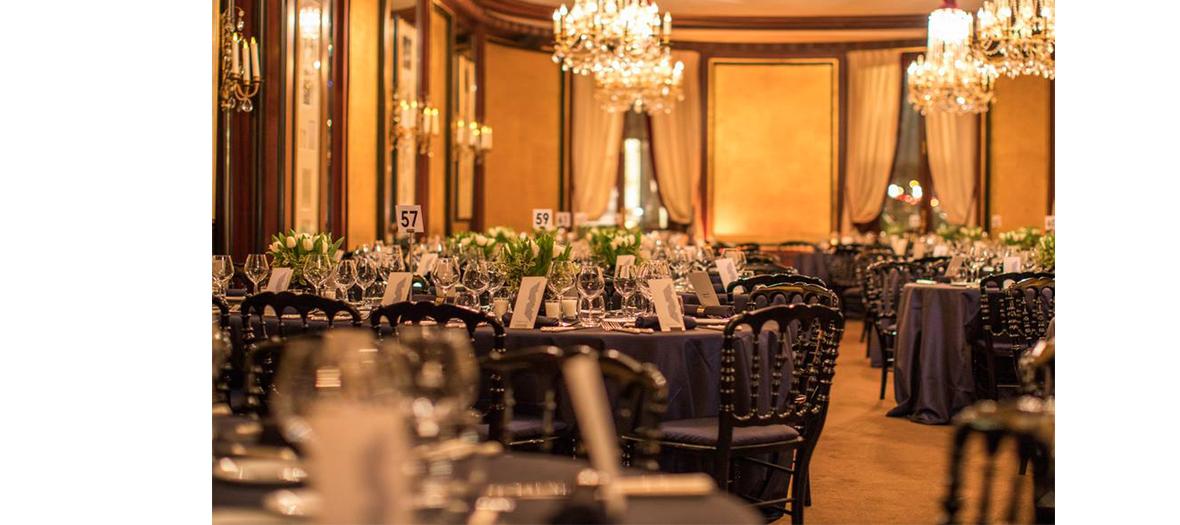 Le dîner des Césars au Fouquet's
