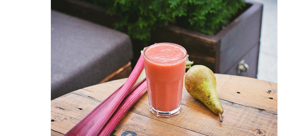 Healthy pressed juices