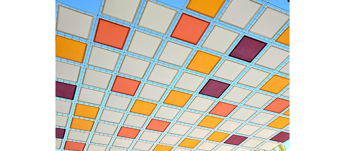La mosaïque colorée