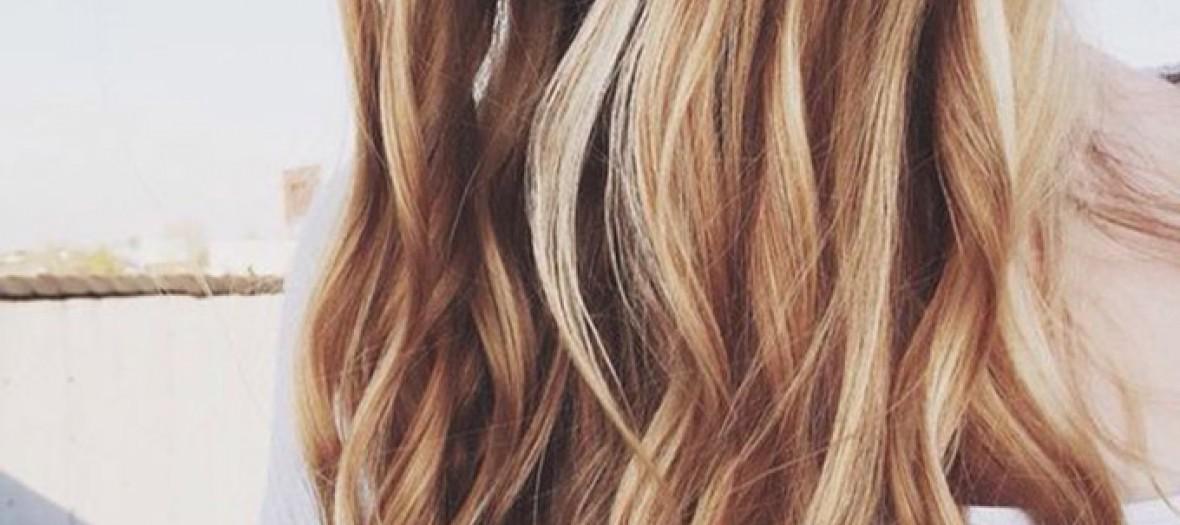 Des cheveux blonds magnifiques