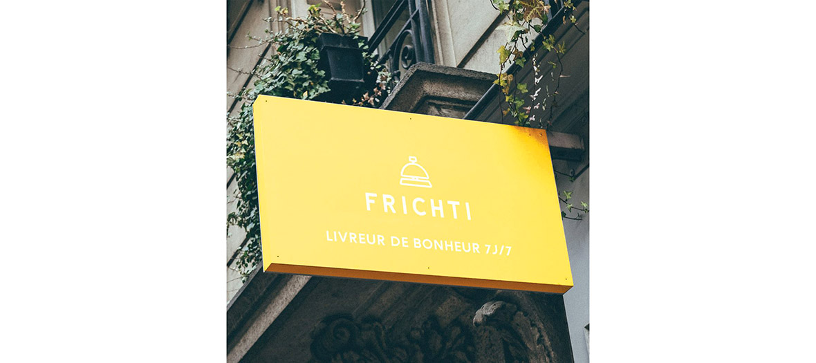 frichti outside sign shop