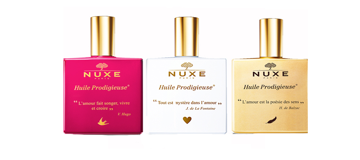 Trio of oils by Nuxe