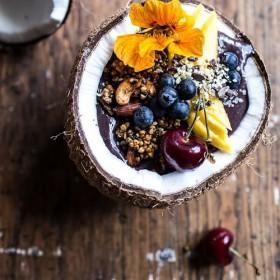 Acaï bowl: the new healthy phenomenon !