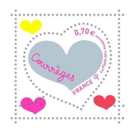 Le timbre couture griffé Courrèges