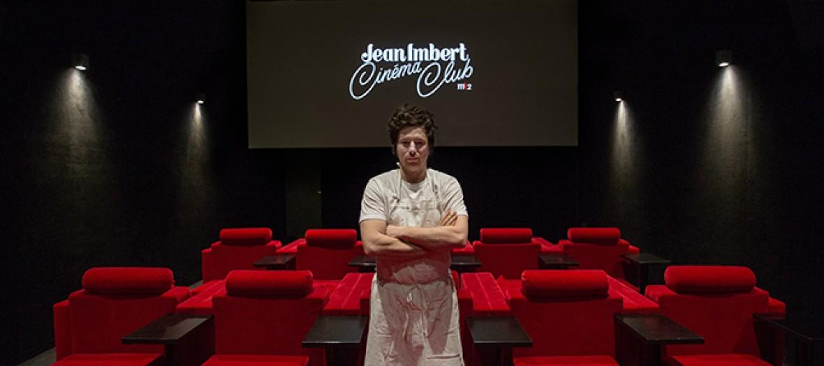 Jean Imbert dans une salle de cinema