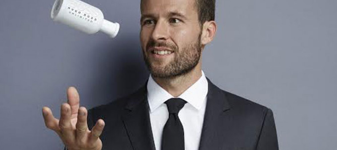 Yohan Cabaye dressed with Hugo Boss clothes