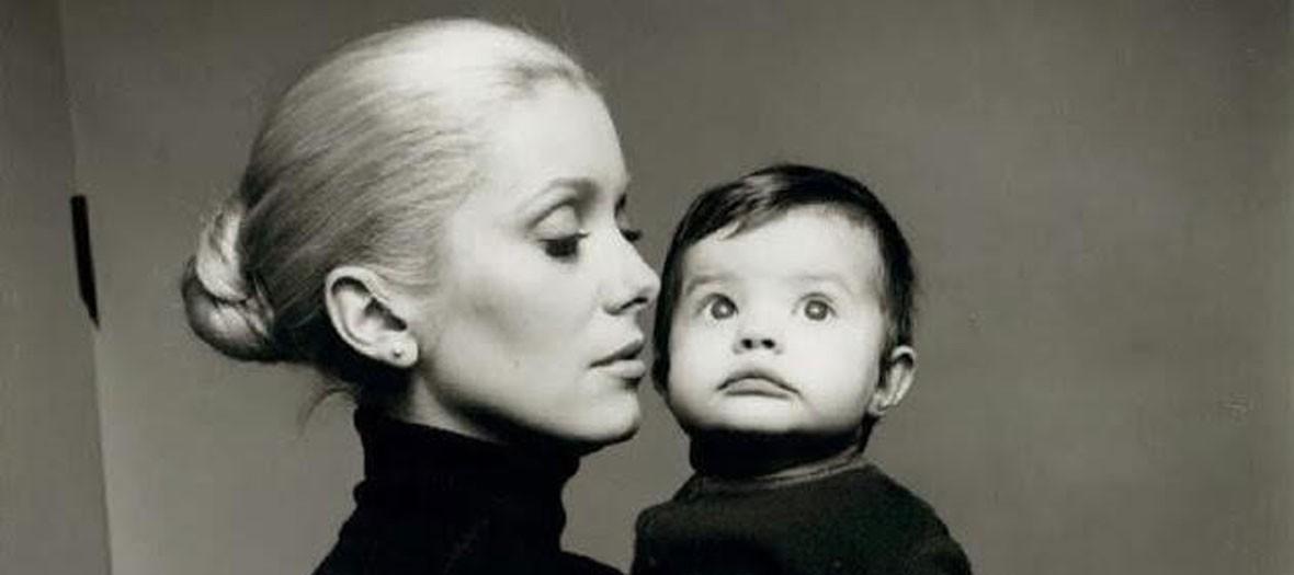 Caterine Deneuve avec sa fille