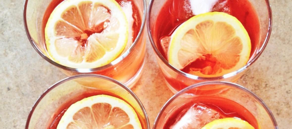 Cocktail detox à la Coupole