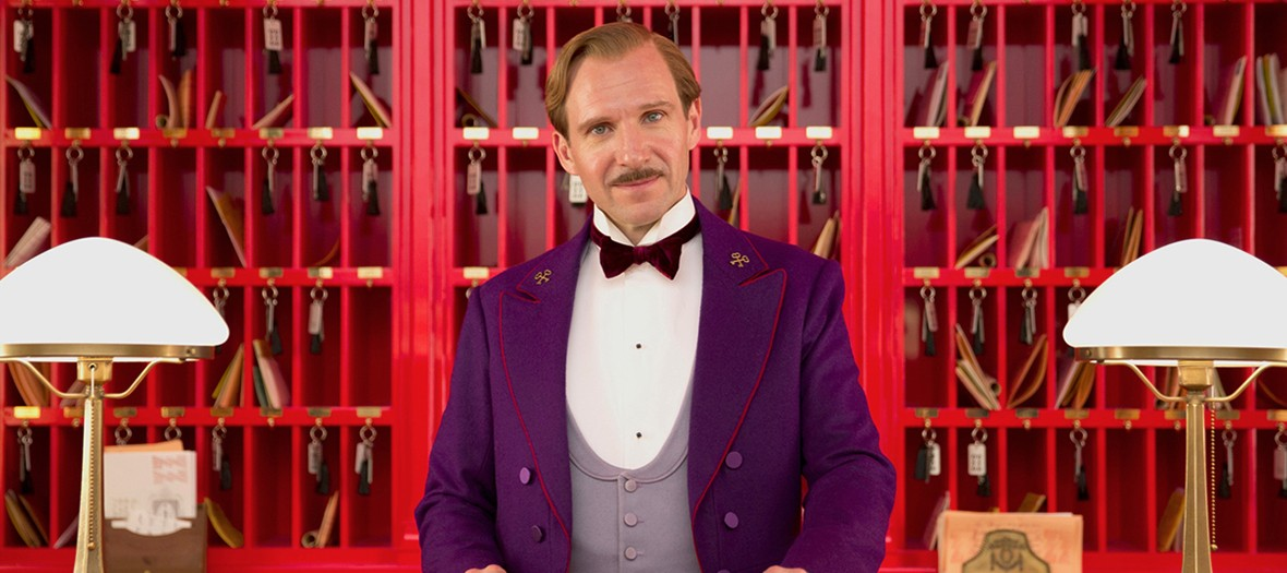 Ralph Fiennes playing in Grand Budapest Hotel Movie