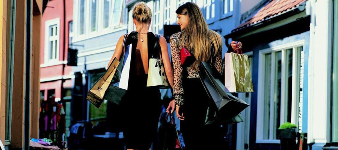 Seance shopping au passage du havre