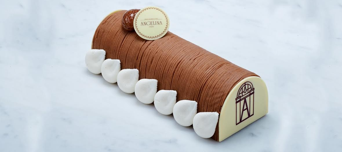 Angelina Yule log