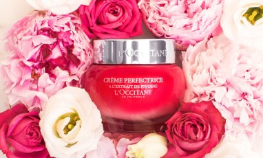 Our most spectacular cream for Spring : Pivoine Sublime by L'Occitane