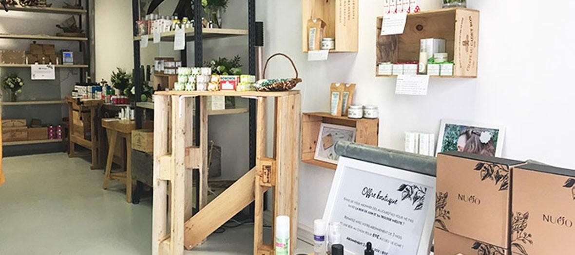 Boutique de beauté éphémère Nuoo