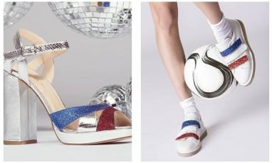 Bleu, blanc, rouge, jusqu'à la pointe des pieds
