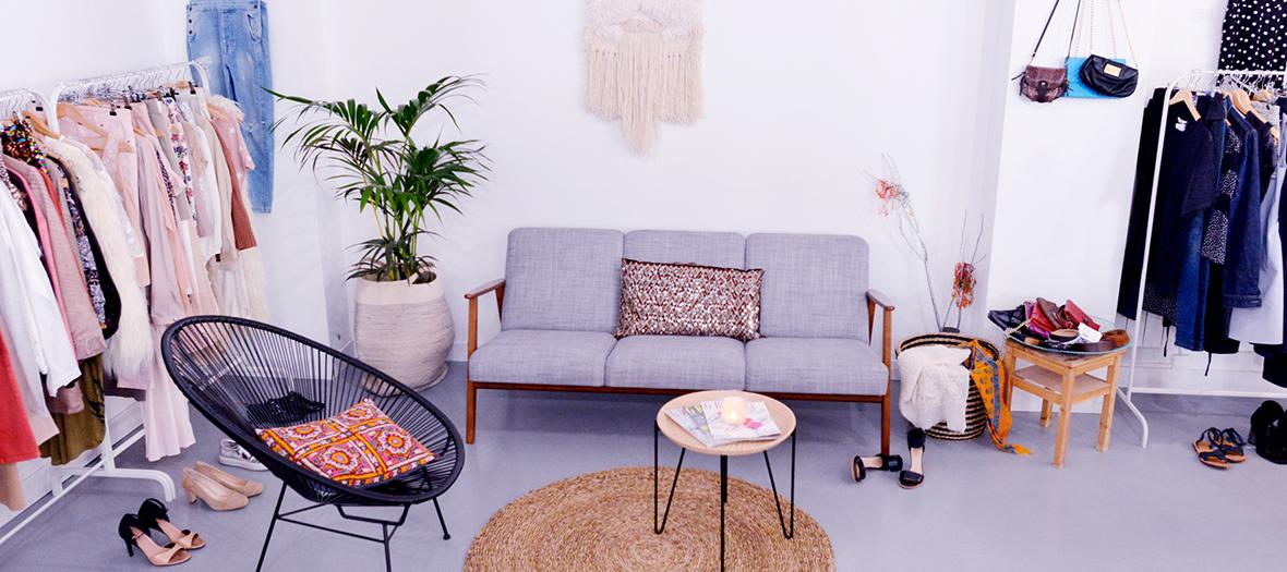 la frange l envers nouveau d p t vente rue saint maur. Black Bedroom Furniture Sets. Home Design Ideas