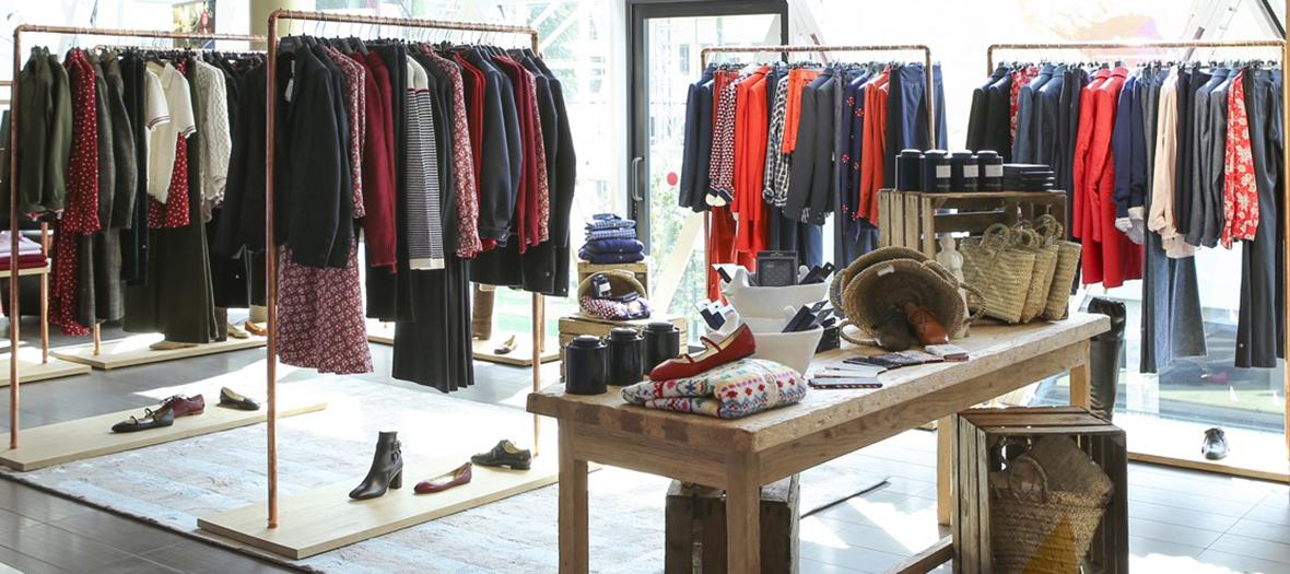 Ines de la fressange installe son premier pop up store beaugrenelle - Ines de la fressange filles ...