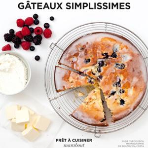 Couverture du livre Gâteaux simplissimes