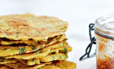 Les pancakes gluten-free à l'indienne