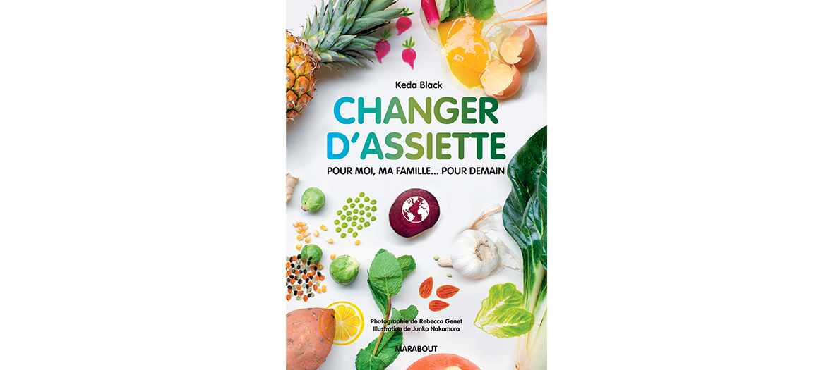 Book cover of recipes Changer D'Assiette by Keda Black