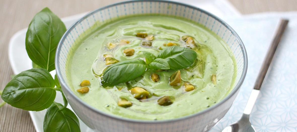 Soupe Courgettes Pistache