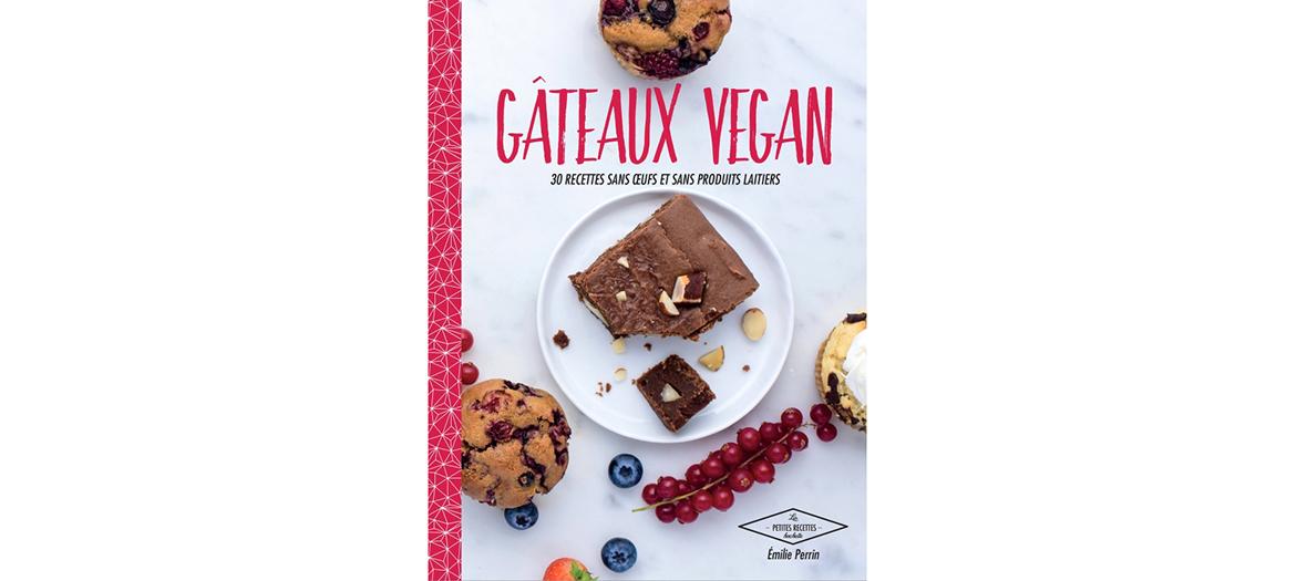 book gateaux vegan of Emilie Perrin