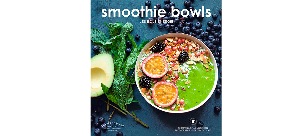 ouvrage smoothie bowl editions marabout
