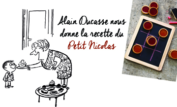 The recipe of small shortbread cookies by Alain Ducasse