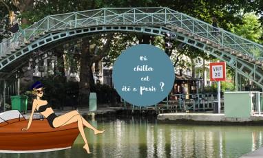 Où chiller cet été à Paris ?