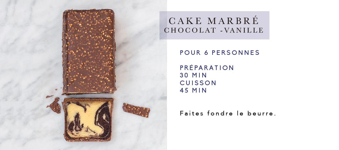 cyril lignac recette du meilleur cake marbr de paris. Black Bedroom Furniture Sets. Home Design Ideas