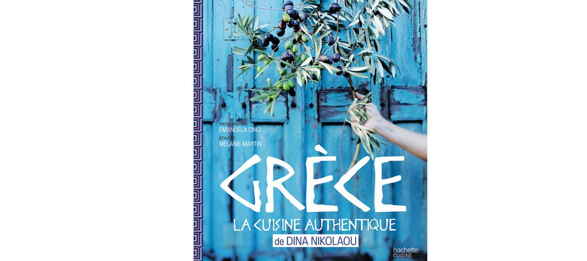 Livre de recette de Dina Nikolaou, éditions Hachette Cuisine