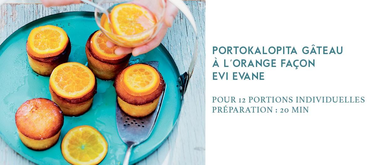 Recette du gâteau à l'orange d'Evi Evane