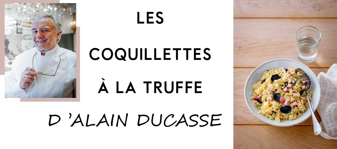 Coquillettes A La Truffe Ducasse