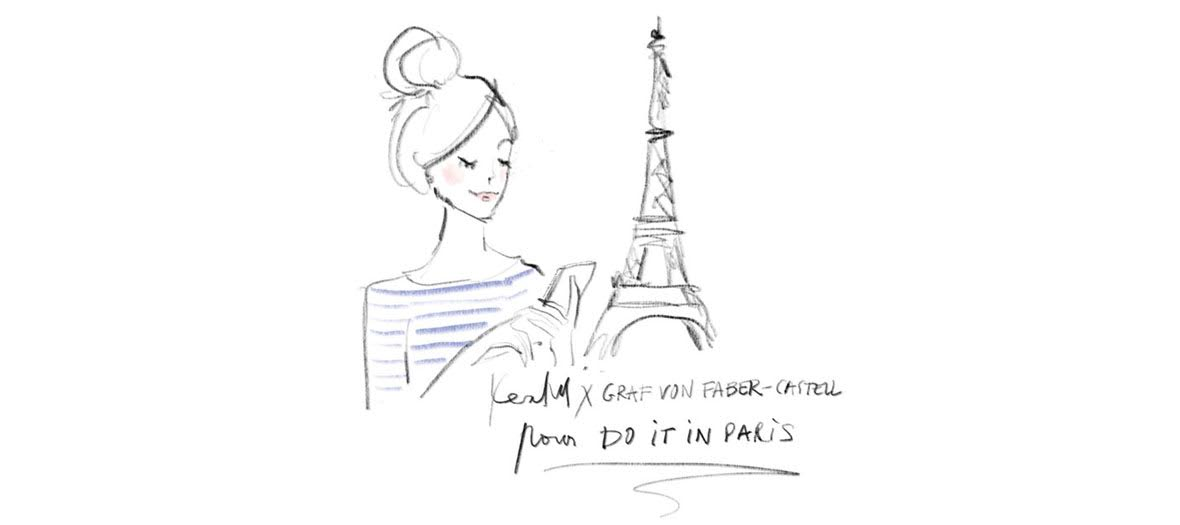 kera till illustration do it in paris