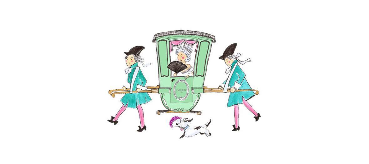 illustration kera till pour ladurée