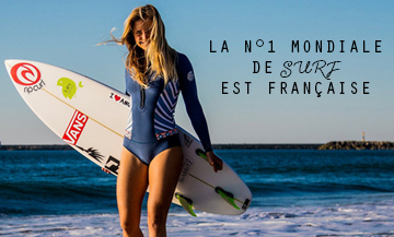 Pauline Ado : profession surfing world champion!