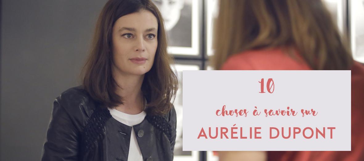 Portrait d'Aurelie Dupont