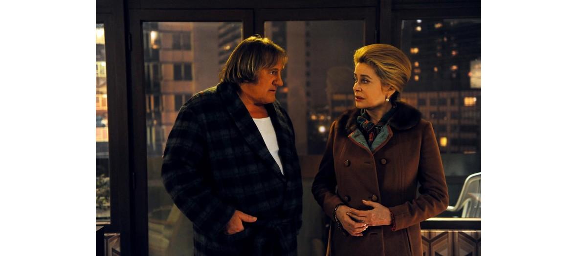 Catherine Deneuve and Gerard Depardieu