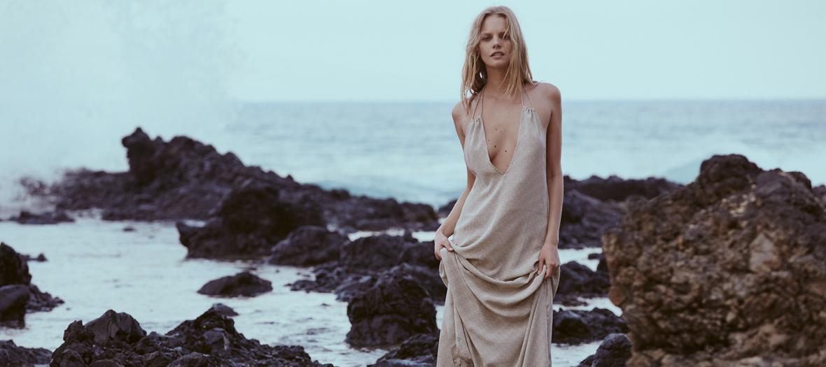 robe longue acacia