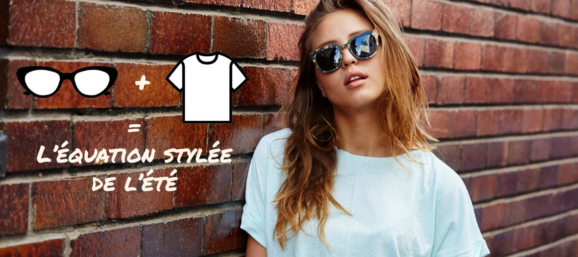 A Pair Of Sunglasses A T Shirt Fashion Essentials