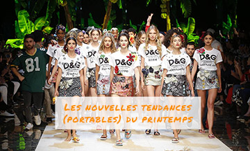 Tendances Printemps 2017