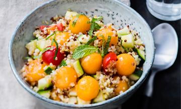 Recette Quinoa Melon