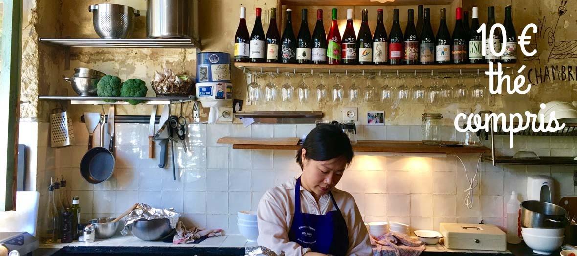 The cuisine la cantine of 0FR Alexandre Thumerelle in La Chambre Noire