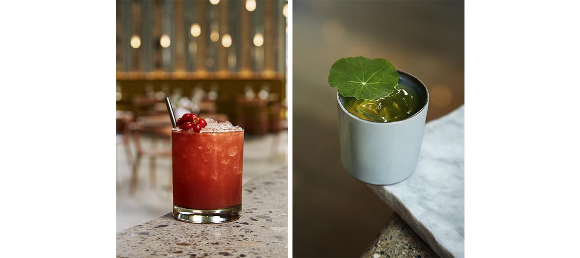 Cocktails les grands verres