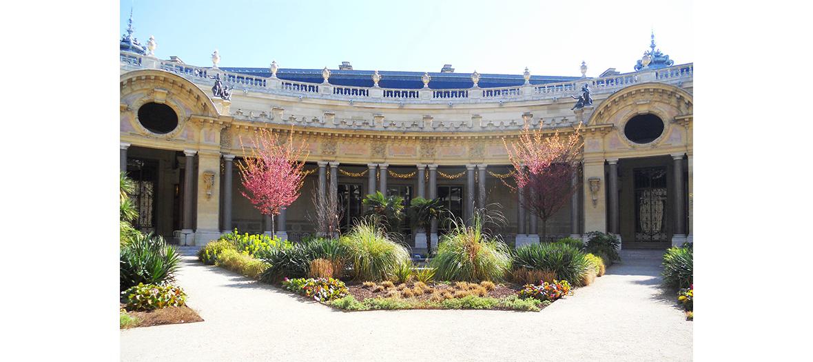 Le jardin du petit palais un jardin secret sur les for Cafe le jardin du petit palais