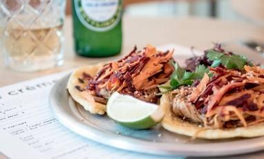 Tacos avec tortillas maison du Café Crème