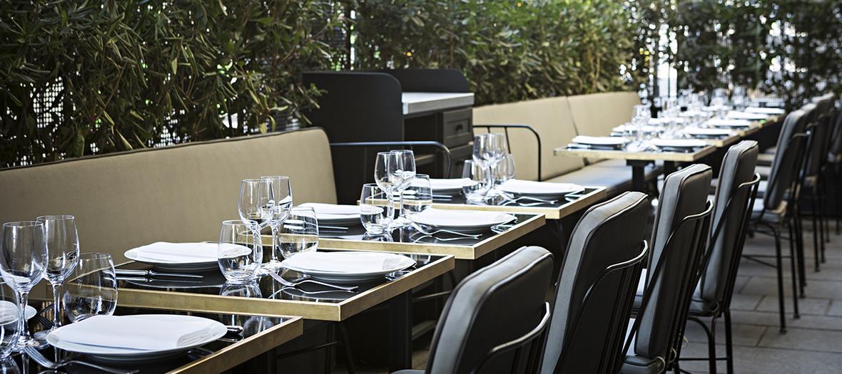 La fameuse terrasse du lazare - Restaurant gare saint lazare ...
