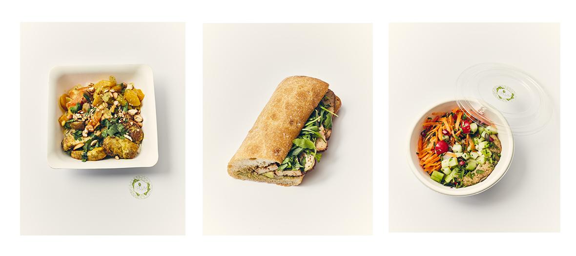 plats a'plum sandwich salades