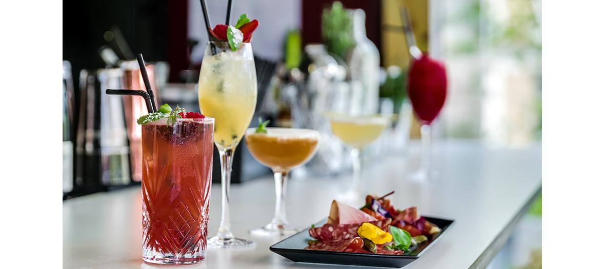Cocktails du Terrass Hotel
